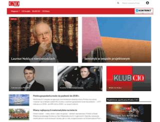 cmo.cxo.pl screenshot