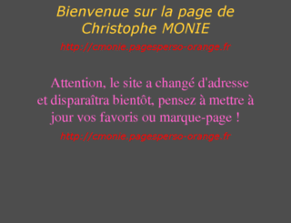 cmonie.club.fr screenshot