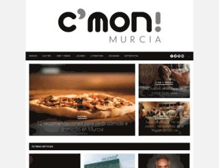cmonmurcia.com screenshot