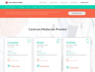 cmpromed.pl screenshot