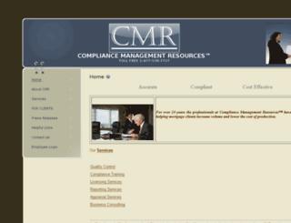 cmr.us.com screenshot