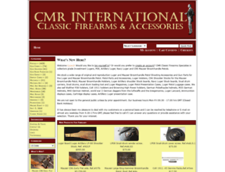 cmrfirearms.com screenshot