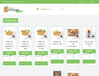 cms.monpotager.com screenshot