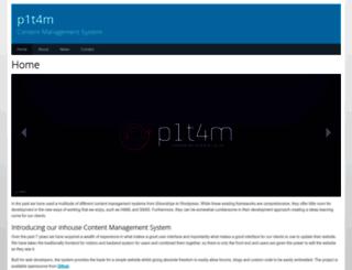 cms.p1t4m.co.uk screenshot