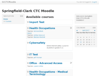 cms.scctc.org screenshot