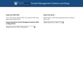 cms.visd.net screenshot