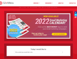 cms.worldata.com screenshot