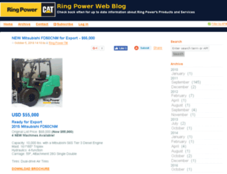 cmsblog.ringpower.com screenshot