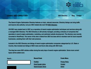 cmseo.com screenshot