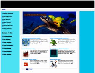 cmsfruit.com screenshot