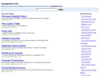cmsgamers.com screenshot