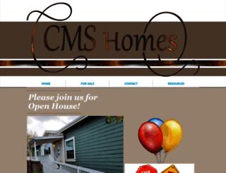 cmshomes.biz screenshot