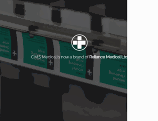 cmsmedical.co.uk screenshot
