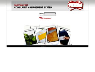 cmspakpost.com screenshot