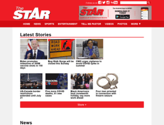 cmsstar.gleanerjm.com screenshot