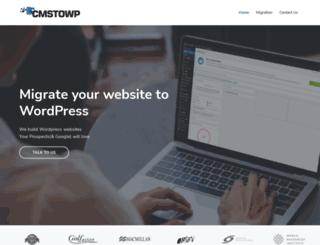 cmstowp.com screenshot