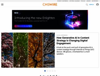 cmswire.com screenshot