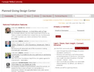 cmu.pgdc.com screenshot