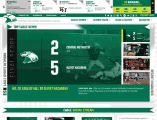 cmueagles.com screenshot