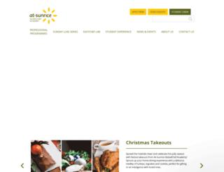 cn.at-sunrice.com screenshot