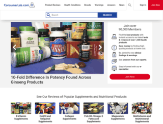 cn.consumerlab.com screenshot