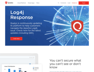 cn.qualys.com screenshot