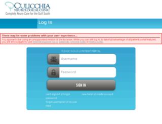 cna.omedixpatientportal.com screenshot