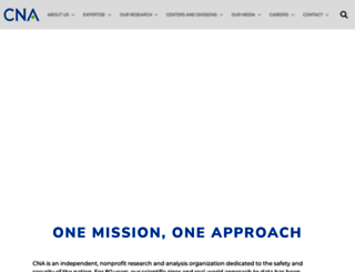 cna.org screenshot