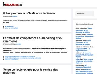 cnamien.fr screenshot