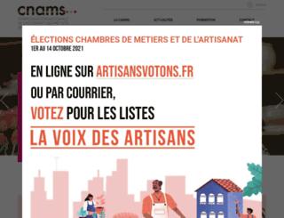 cnams.fr screenshot