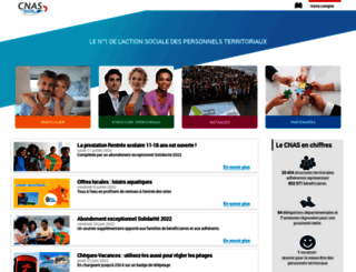 cnas.fr screenshot