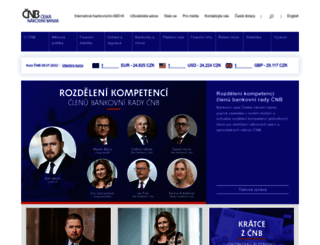 cnb.cz screenshot