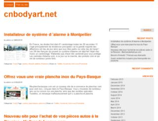 cnbodyart.net screenshot