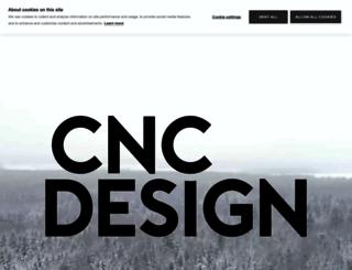 cnc-design.fi screenshot