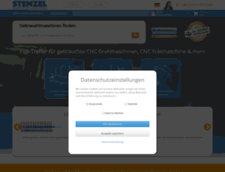 cnc-stenzel.de screenshot
