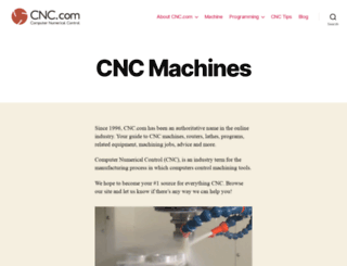 cnc.com screenshot