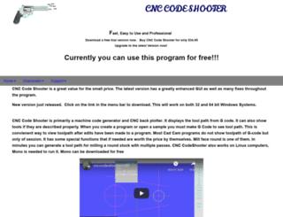 cnccodeshooter.com screenshot
