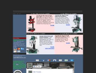 cncfusion.com screenshot
