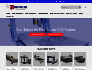 cncrouterstore.com screenshot