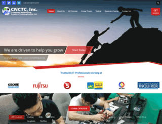 cnctc.edu.ph screenshot