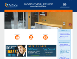 cndc.aast.edu screenshot