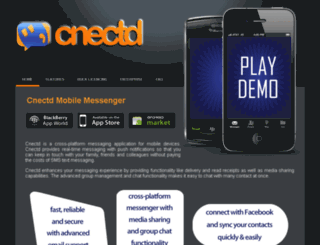 cnectd.com screenshot