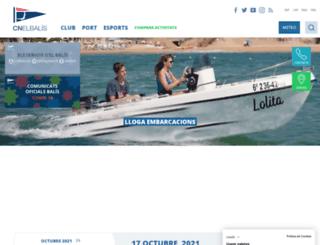 cnelbalis.com screenshot