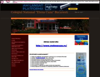 cnelenacuza.uv.ro screenshot