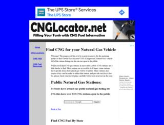 cnglocator.net screenshot