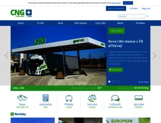 cngplus.cz screenshot
