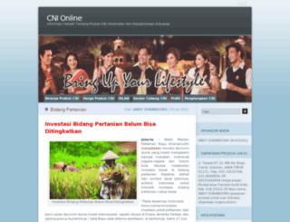 cniku.wordpress.com screenshot
