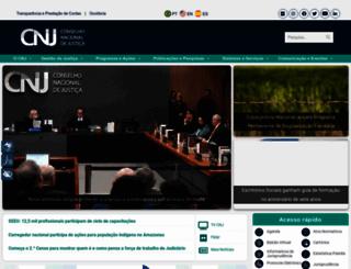 cnj.jus.br screenshot