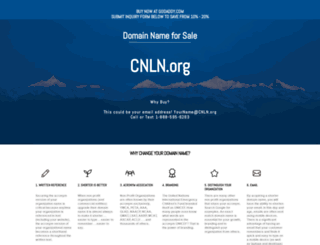 cnln.org screenshot