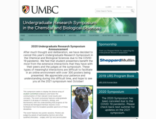 cnmssymposium.umbc.edu screenshot